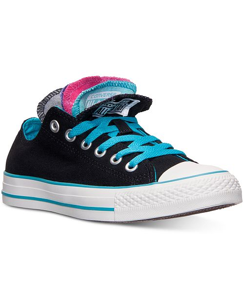 dc0260ca9a61 ... Converse Women s Chuck Taylor Ox Multi Tongue Casual Sneakers from  Finish ...