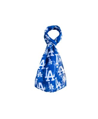Los Angeles Dodgers All Over Logo Infinity Scarf