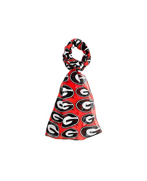Forever Collectibles Georgia Bulldogs All Over Logo Infinity Scarf