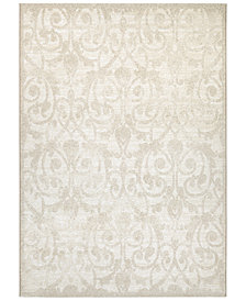 "Couristan Esplanade Cannes Champagne 7'10"" x 10'9"" Area Rug"