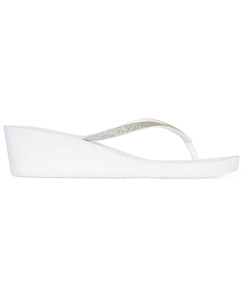1277e1e14b82 REEF Krystal Star Wedge Thong Sandals   Reviews - Sandals   Flip ...