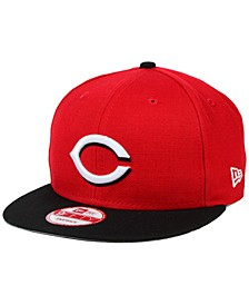 Cincinnati Reds 2-Tone Link 9FIFTY Snapback Cap