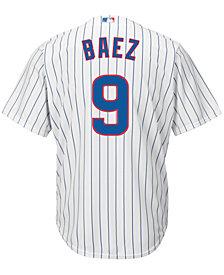 Majestic Men's Javier Baez Chicago Cubs Replica Jersey