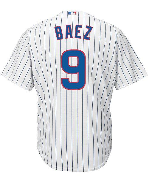 a8dc46ba3a5 Majestic Men s Javier Baez Chicago Cubs Replica Jersey   Reviews ...