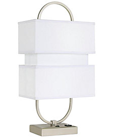 CLOSEOUT! Pacific Coast Metal With Three Stacked Shades Table Lamp