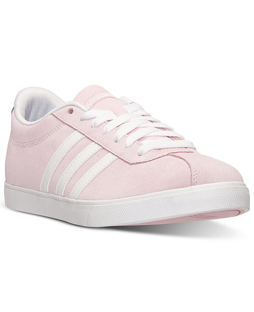adidas Women s Courtset Casual Sneakers from Finish Line ... 9e7ba98a9