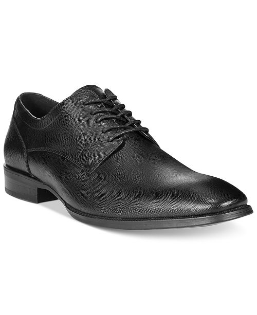 dfcd6bc8 Alfani Men's Platinum Spence Textured Oxford, Created for Macy's