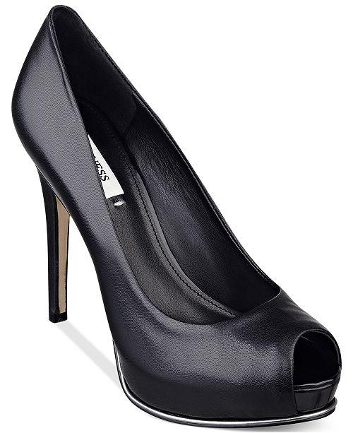 Guess Women's Honora Platform Pumps Women's Shoes J6w8RUXPd