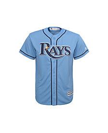 Majestic Tampa Bay Rays Replica Jersey, Big Boys (8-20)