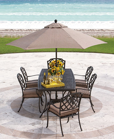 Grove Hill Outdoor Dining Collection Created For Macy S Furniture
