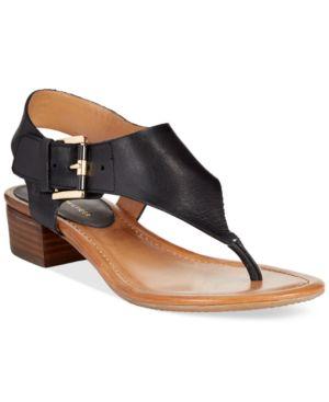 Tommy Hilfiger Kitty Block Heel Sandals Women