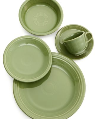 Fiesta. Sage 5-Piece Place Setting. 4 reviews. main image  sc 1 st  Macyu0027s & Fiesta Sage 5-Piece Place Setting - Dinnerware - Dining ...