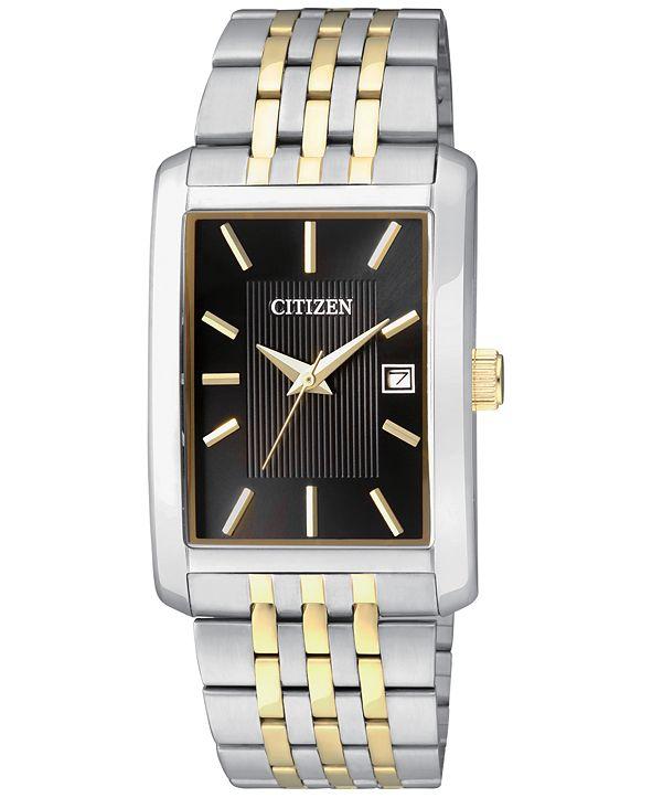 Citizen Men's Two-Tone Stainless Steel Bracelet Watch 38mm BH1678-56E