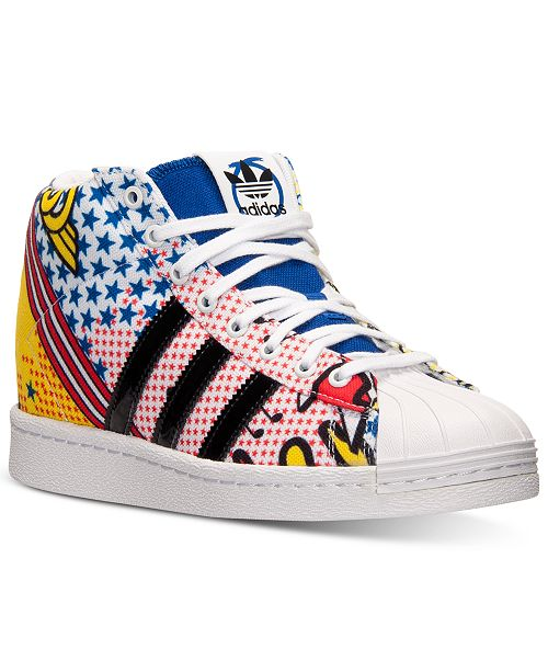 7b13d3239 ... adidas Women s Originals Rita Ora Superstar Up Casual Sneakers from  Finish ...