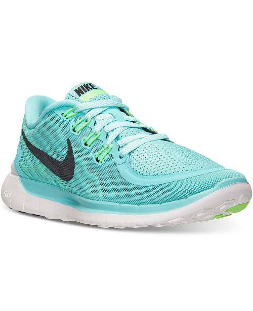bed5c44868129 Nike Women s Free 5.0 Running Sneakers from Finish Line   Reviews ...