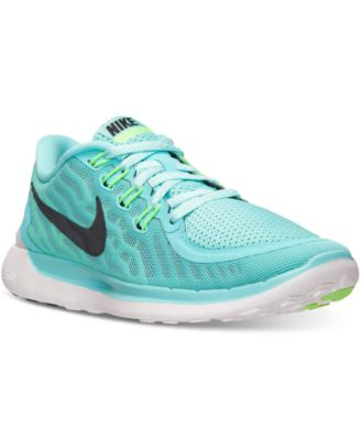 Nike Free 5.0 V3 Womens Running Shoes - Green