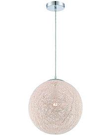 Lite Source Kumi Contemporary Pendant Light