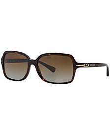 Coach Polarized Sunglasses, HC8116 BLAIR