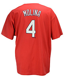 Majestic Men's Big and Tall Yadier Molina St. Louis Cardinals T-Shirt