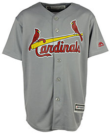 Majestic St. Louis Cardinals Replica Jersey, Big Boys (8-20)