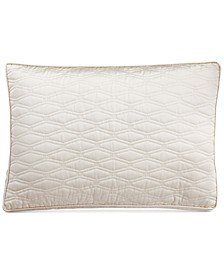 Woven Texture Quilted King Sham