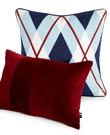 Tommy Hilfiger Decorative Bed Pillows : Tommy Hilfiger Buckaroo Decorative Pillow Collection - Decorative Pillows - Bed & Bath - Macy s