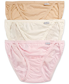 Jockey Elance String Bikini 3 Pack 1483