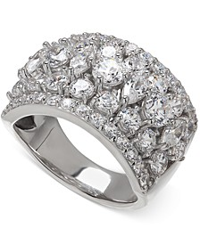 Swarovski Zirconia Pave Ring in Sterling Silver