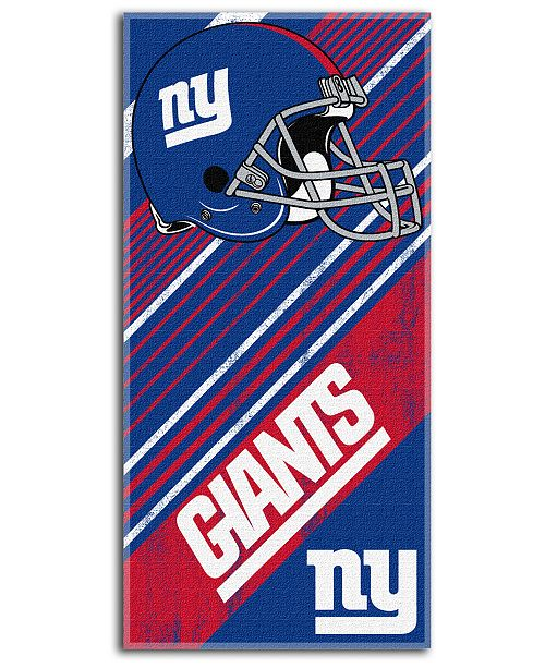 Northwest Company New York Giants Beach Towel