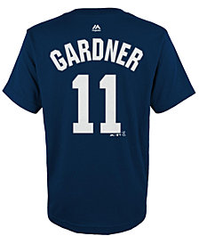 Majestic Kids' Brett Gardner New York Yankees Player T-Shirt