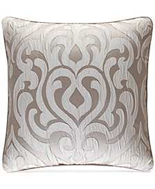 "J Queen New York Astoria 18"" Square Decorative Pillow"