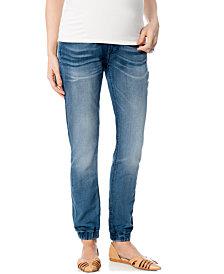 Vigoss Maternity Drawstring Pull-On Skinny Jogger Pants