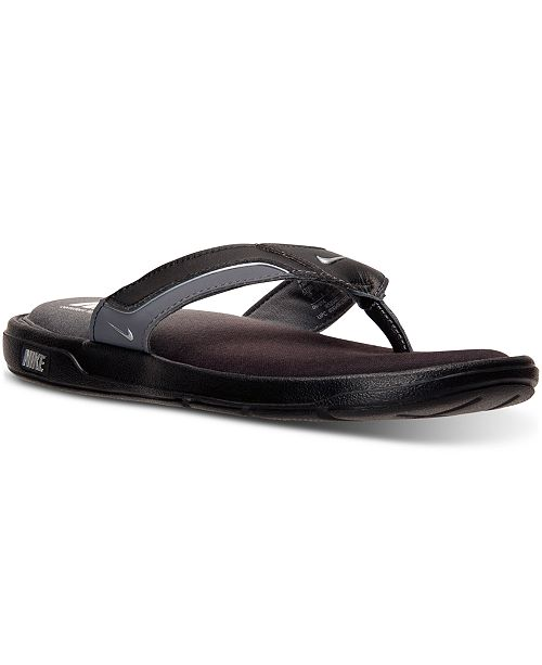 e53e372108fd Nike Men s Solarsoft Comfort Thong Sandals from Finish Line ...
