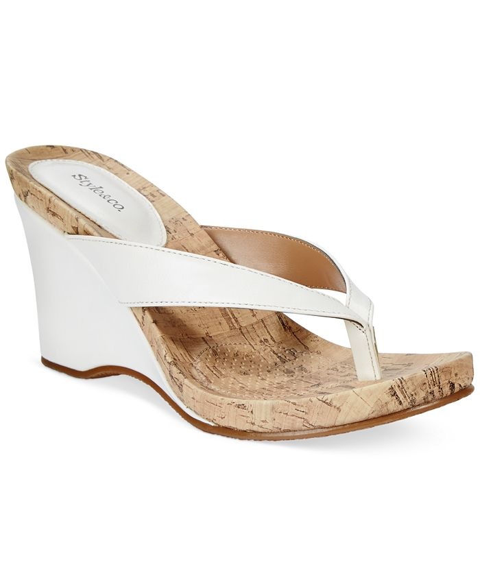 Style & Co - Chicklet Wedge Sandals
