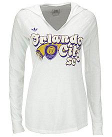 adidas Women's Orlando City SC Hooded T-Shirt