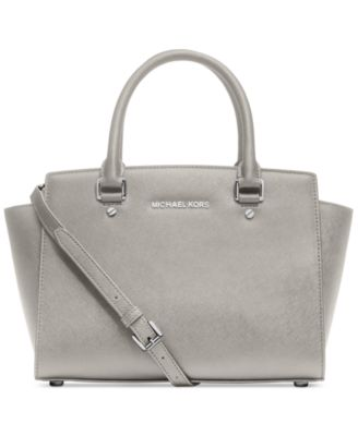 michael kors selma medium satchel handbags accessories macy s rh macys com