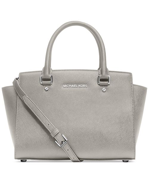 Michael Kors Selma Medium Satchel 96 Reviews Main Image