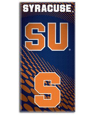 Northwest Company Syracuse Orange Beach Towel
