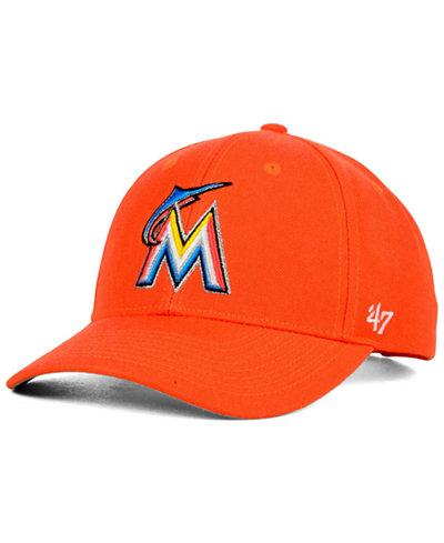 '47 Brand Miami Marlins MVP Curved Cap