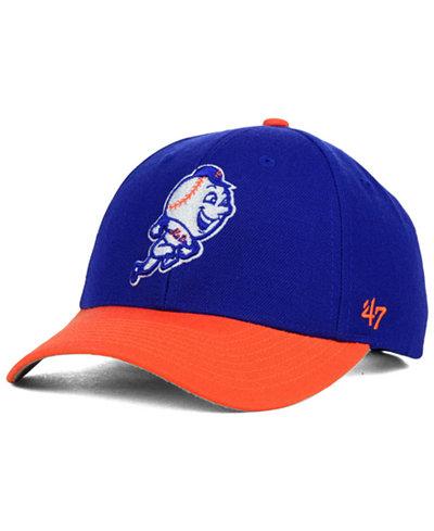'47 Brand New York Mets MVP Curved Cap