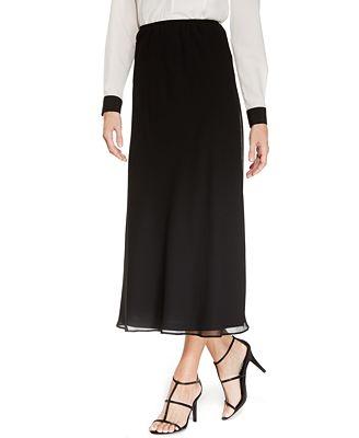 MSK Midi A-Line Skirt - Skirts - Women - Macy's
