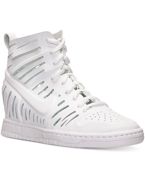 finest selection 2b70f c5a4f ... Nike Women s Dunk Sky Hi Joli Casual Sneakers from Finish ...