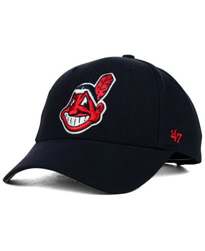 '47 Brand Cleveland Indians MVP Curved Cap