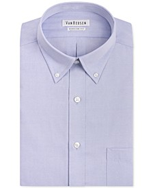 Classic-Fit Easy Care Pinpoint Oxford Dress Shirt
