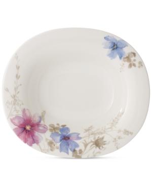 Villeroy  Boch Mariefleur Gris Oblong Rim Soup Bowl