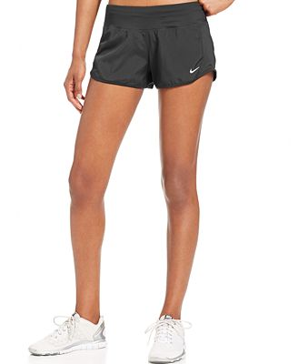 Creative Nike Modern Embossed Tempo Short Women39s Black SU15 010  Ah