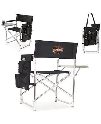 Picnic Time Harley Davidson Folding Sports Chair Outdoor