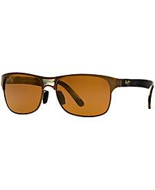 Maui Jim Polarized Sunglasses, 296 Hang Ten 57