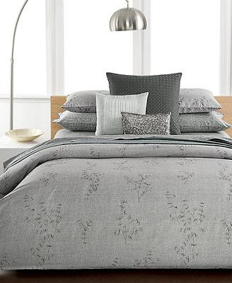 Calvin Klein Closeout Acacia King Comforter Bedding