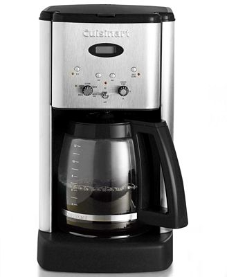 cuisinart dcc-1200 brew central 12-cup coffee maker - coffee, tea